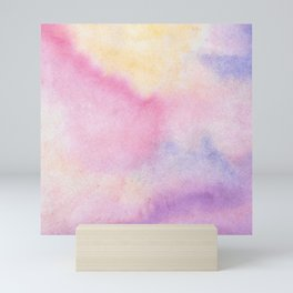 Pastel Watercolors Mini Art Print