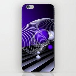 go violet -16- iPhone Skin