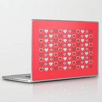 valentine Laptop & iPad Skins featuring Valentine by NoMoreWinters
