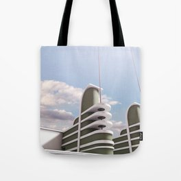 PAN PACIFIC AUDITORIUM COLOR Tote Bag