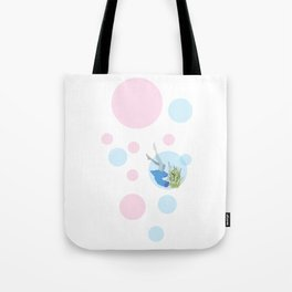 Falling Out Of Sleep Tote Bag