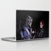 garrus Laptop & iPad Skins featuring We're safe, Jane by Hitto