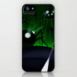 SCAPE - Heavy Metal Thunder Artwork iPhone Case