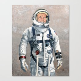 Ed White Canvas Print