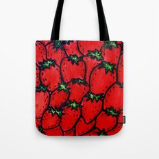 Strawberry jamboree Tote Bag