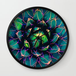 Sweet Agave Wall Clock