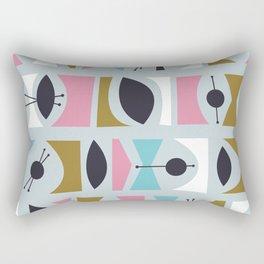 Tromen - Blue Rectangular Pillow