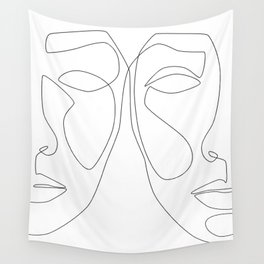 Double Face Wall Tapestry
