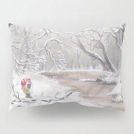 Gnome and fox Pillow Sham