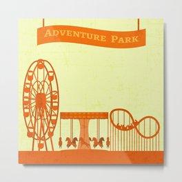 The Amusement Park Metal Print