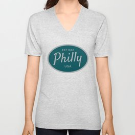Philly Established USA Print Unisex V-Neck