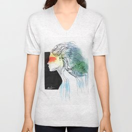 Mother of the Earth Unisex V-Neck