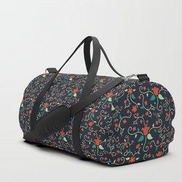Tangled Flowers Duffle Bag