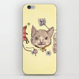 Al gato y al raton iPhone Skin