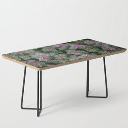 WILD SALVIA MAUVE AND GRAY GREEN Coffee Table