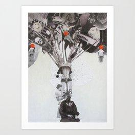 Mind_Gap Art Print
