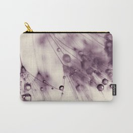 dandelion aubergine Carry-All Pouch