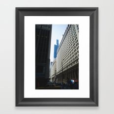 Sears Tower II Framed Art Print