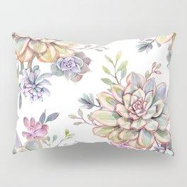 succulent watercolor 10 Pillow Sham