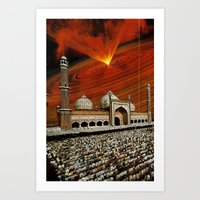 apocalypse now Art Prints featuring Apocalypse Now by Caroline A