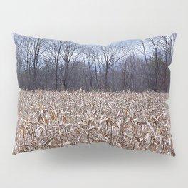 Field of Corn left Behind Pillow Sham