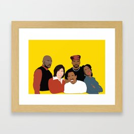 Marrtttiinnnn - Classic TV Framed Art Print