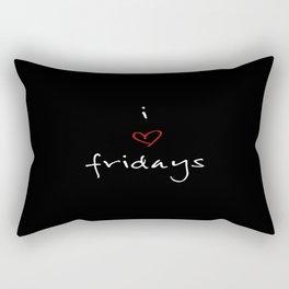 I love Rectangular Pillow