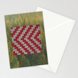 black lodge Stationery Cards