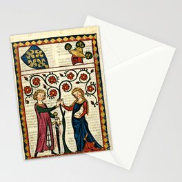 Codex Manesse: Bernger von Horheim Stationery Cards