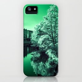 Infra-Red River iPhone Case