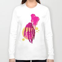 bones Long Sleeve T-shirts featuring Bones by Love2Laugh