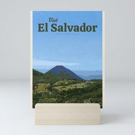 Visit El Salvador Mini Art Print