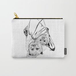 Bats, mom and child Carry-All Pouch