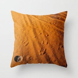 Small desert Throw Pillow
