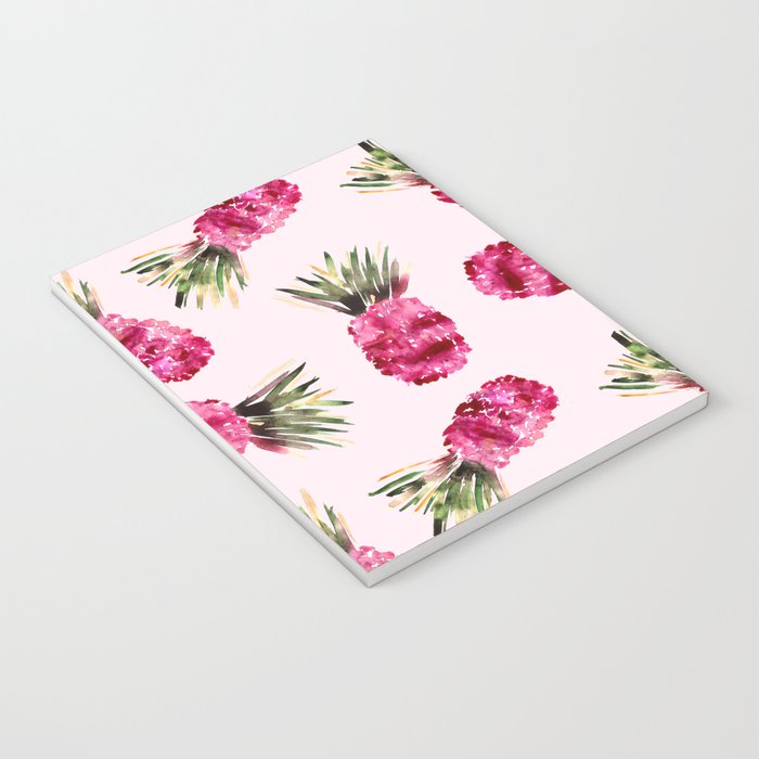Pink Pineapples Notebook