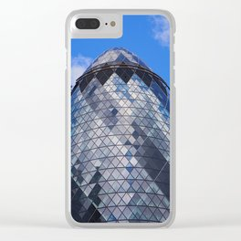 The Gherkin Clear iPhone Case