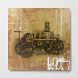 Fire Engine Metal Print