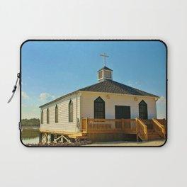 Chapel Over Pawleys Creek Laptop Sleeve