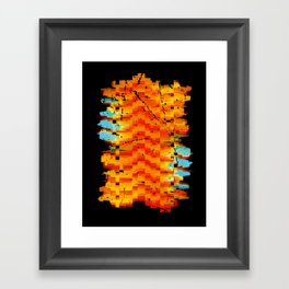 Abstract Composition #2 Framed Art Print