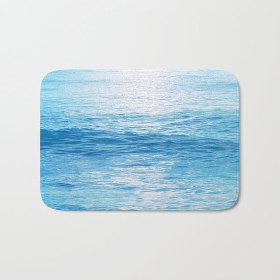 Cerulean Sea Bath Mat