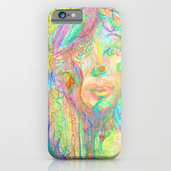 Psychedelic Girl iPhone & iPod Case