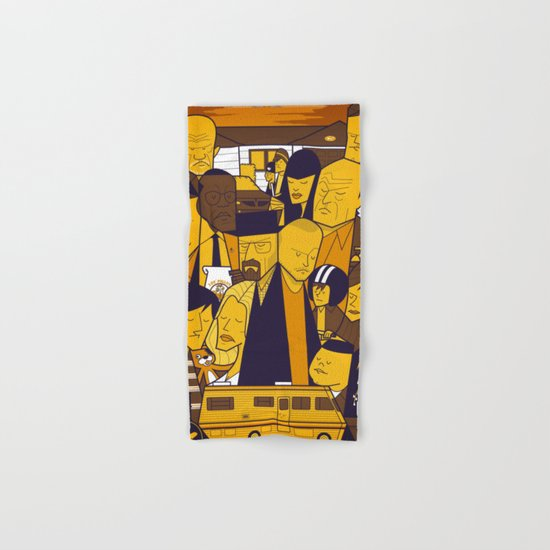 Breaking Bad (yellow version) Hand & Bath Towel