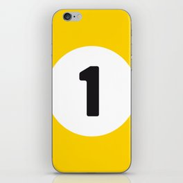 Ball 1 Billiard iPhone Skin