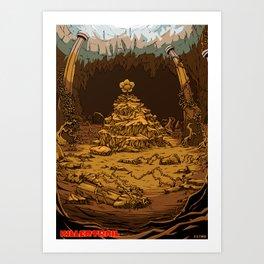 57854e146910 Undertale AU Killertrail Art Print