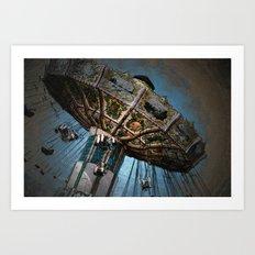 Swinging High Art Print