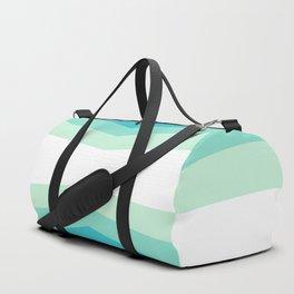 70s 80s Retro Colors Palette Blue 1 Duffle Bag