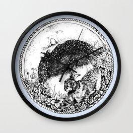 Moon Dreams Wall Clock