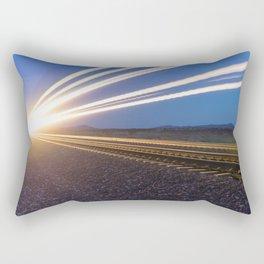 Final Approach Rectangular Pillow