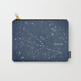 TAURUS - Astronomy Astrology Constellation Carry-All Pouch