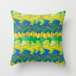 magical scenery Throw Pillow